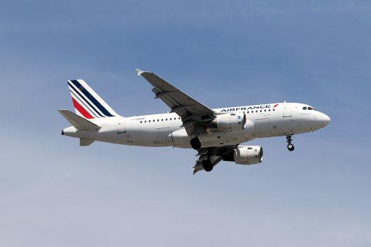 AF/AFR/エールフランス  A319 F-GRHM