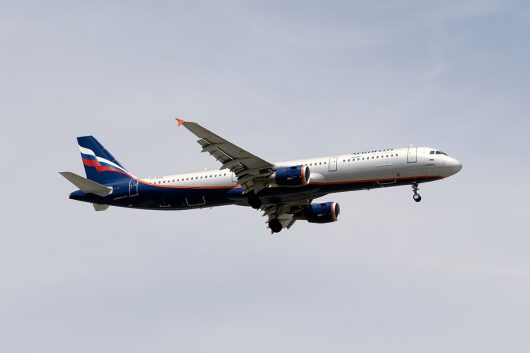SU/AFL/アエロフロート・ロシア航空  A321 VP-BUM