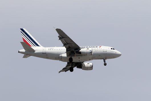 AF/AFR/エールフランス  A318 F-GUGJ