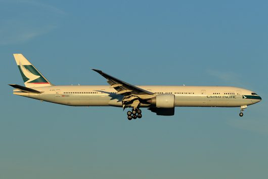 CX/CPA/キャセイパシフィック航空  B777-300ER B-KPE