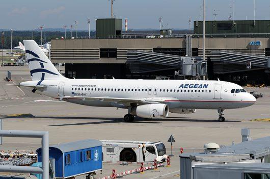 A3/AEE/エーゲ航空  A320 SX-DVY