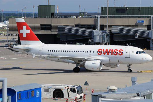 LX/SWR/スイス国際航空  A319 HB-IPT