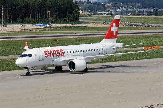 LX/SWR/スイス国際航空  CS100 HB-JBC