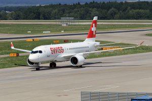 LX/SWR/スイス国際航空 CS100 HB-JBB