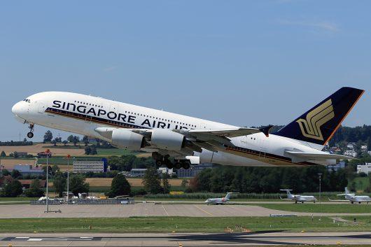 SQ/SIA/シンガポール航空  A380 9V-SKP