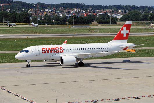 LX/SWR/スイス国際航空  CS100 HB-JBH