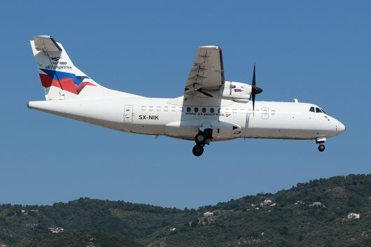 GQ/SHE/スカイ・エクスプレス GQ58 ATR42 SX-NIK