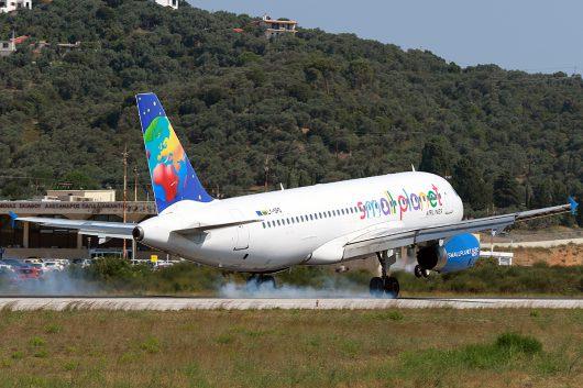 S5/LLC/スモール プラネット エアラインズ  A320 LY-SPD