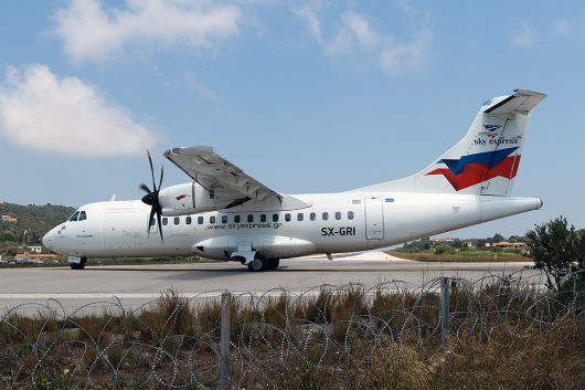 GQ/SHE/スカイ・エクスプレス GQ51 ATR42 SX-GRI