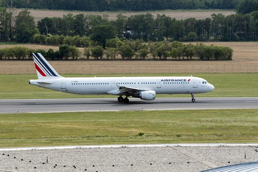 AF/AFR/エールフランス  A321 F-GTAD