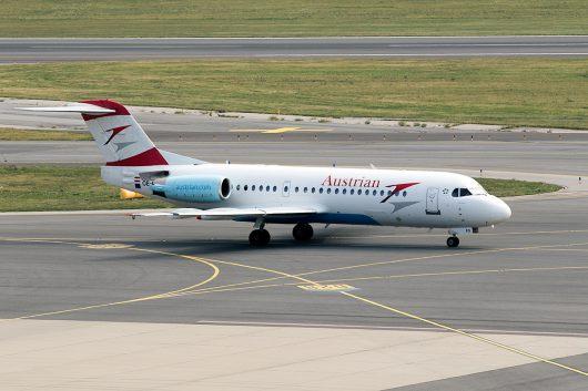 OS/AUA/オーストリア航空  F70 OE-LFQ