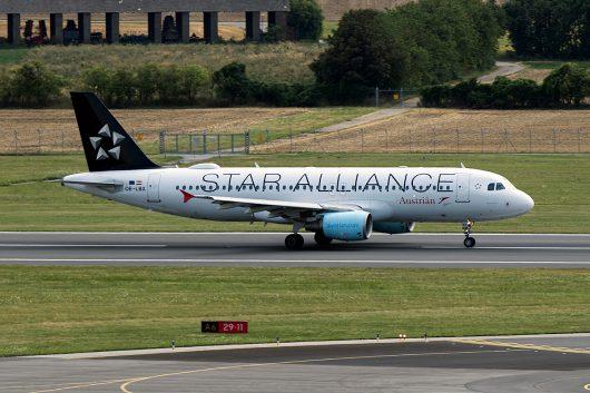 OS/AUA/オーストリア航空  A320 OE-LBX