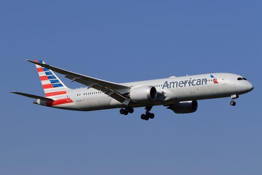 AA/AAL/アメリカン航空 AA169 B787-9 N822AN