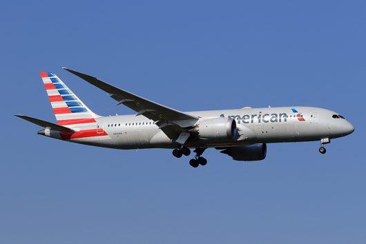 AA/AAL/アメリカン航空 AA153 B787-8 N800AN