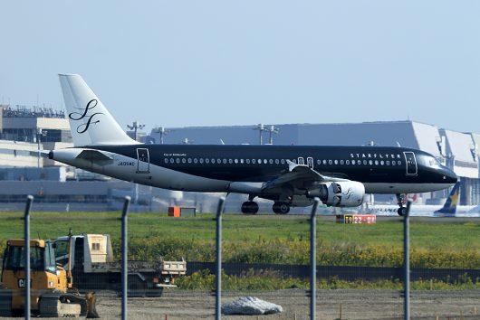 7G/SFJ/スターフライヤー 7G44 A320 JA05MC