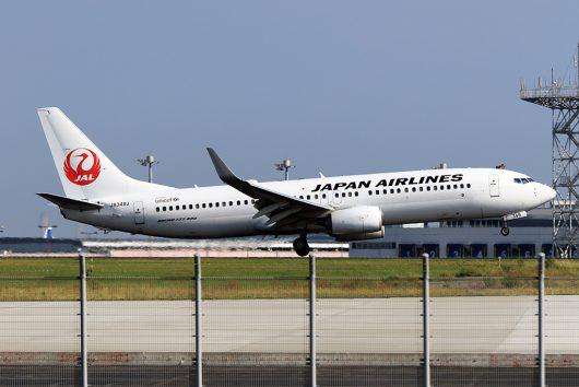 JL/JAL/日本航空 JL374 B737-800 JA349J