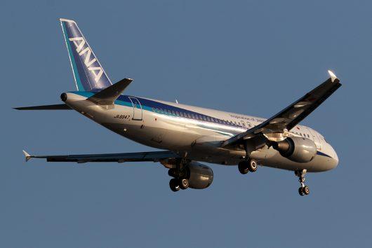 NH/ANA/全日空 NH1102 A320 JA8947