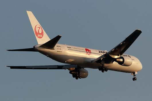 JL/JAL/日本航空 JL124 B767-300ER JA614J