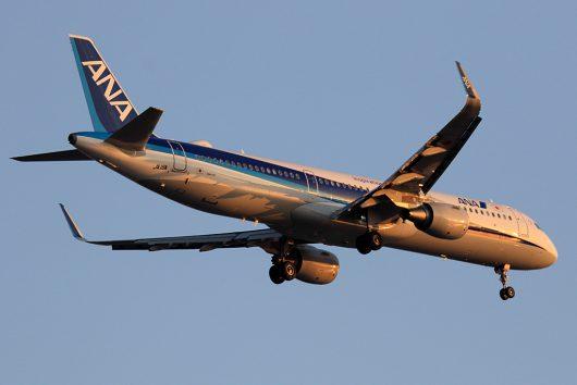 NH/ANA/全日空 NH568 A321Neo JA111A