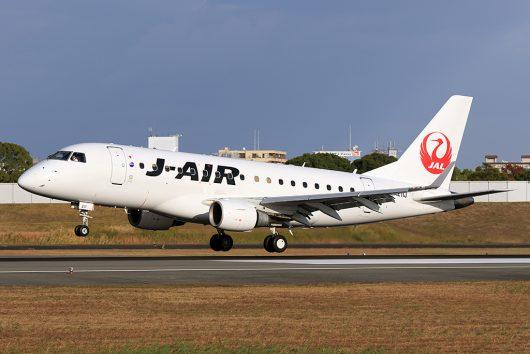 JL/JAL/日本航空 JL2164 ERJ-170 JA211J