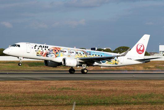 JL/JAL/日本航空 JL2206 ERJ190 JA248J