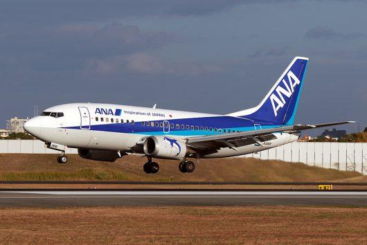 NH/ANA/全日空 NH508 B737-500 JA300K