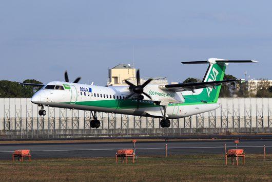 NH/ANA/全日空 NH1608 DHC8-400 JA856A