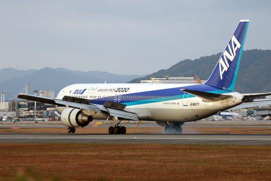 NH/ANA/全日空 NH31 B767-300 JA8677
