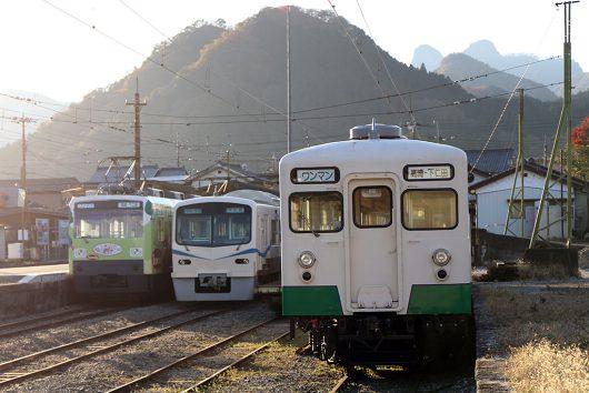 上信電鉄下仁田駅