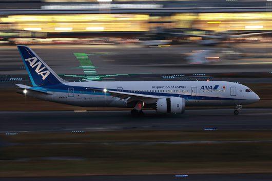 NH/ANA/全日空  B787-8 JA835A