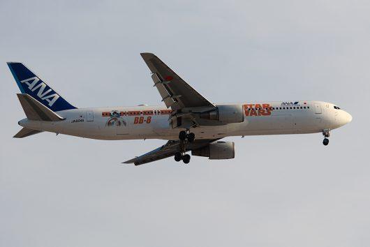 NH/ANA/全日空  B787-8 JA804A