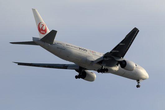 JL/JAL/日本航空 JL314 B777-200 JA773J