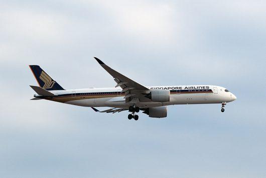 SQ/SIA/シンガポール航空 SQ632 A350-900 9V-SME