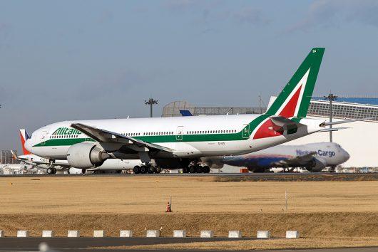 AZ/AZA/アリタリア航空 B777-200ER EI-ISO