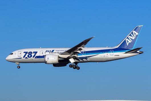 NH/ANA/全日空  B787-8 JA806A