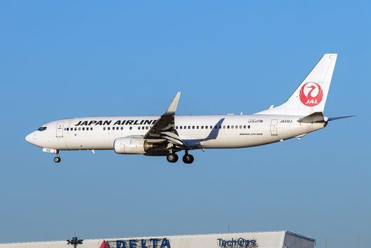 JL/JAL/日本航空  B737-800 JA312J