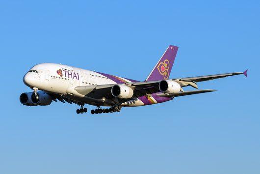 TG/THA/タイ国際航空  A380 HS-TUC