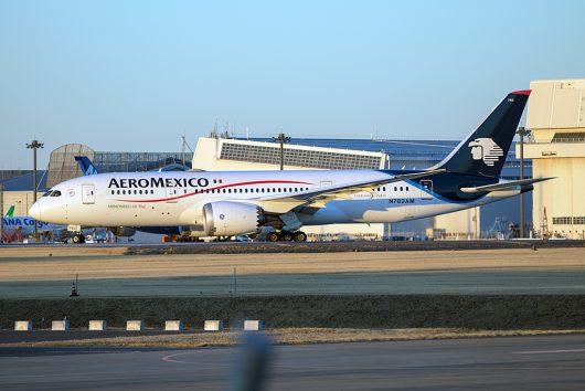 AM/AMX/アエロメヒコ航空  B787-8 N782AM