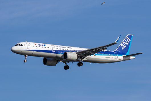 NH/ANA/全日空 NH656 A321Neo JA132A