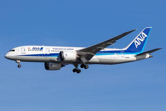 NH/ANA/全日空 NH864 B787-8 JA801A