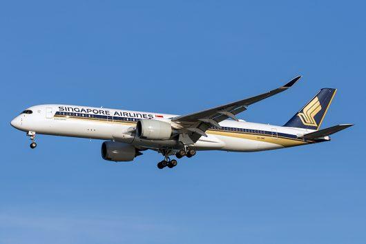SQ/SIA/シンガポール航空 SQ632 A350-900 9V-SMD