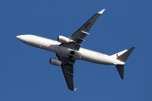 JL/JAL/日本航空 JL283 B737-800 JA319J