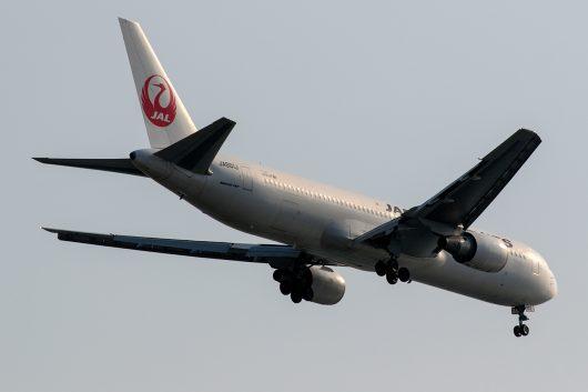 JL/JAL/日本航空 JL118 B767-300ER JA601J