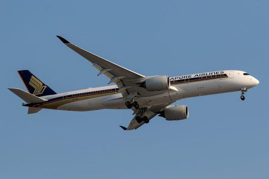 SQ/SIA/シンガポール航空 SQ632 A350-900 9V-SML