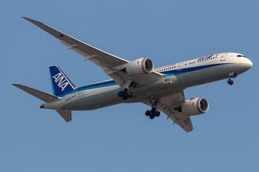 NH/ANA/全日空 NH218 B787-9 JA872A