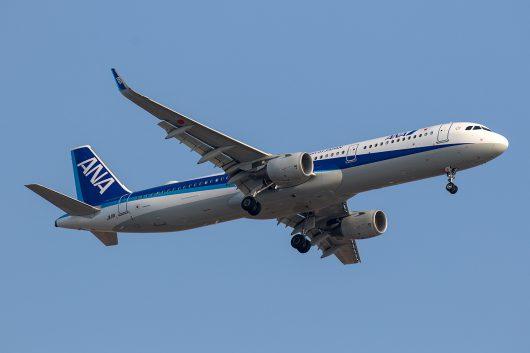 NH/ANA/全日空 NH536 A321Neo JA111A