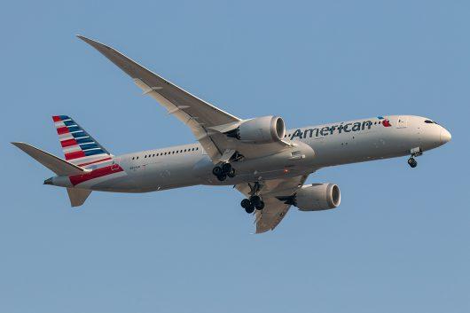 AA/AAL/アメリカン航空 AA21 B787-9 N244AN