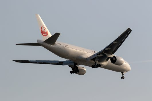 JL/JAL/日本航空 JL120 B777-200 JA8977