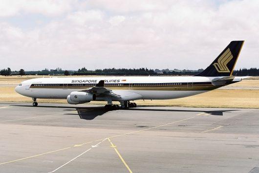 SQ/SIA/シンガポール航空 A340-300 9V-SJJ