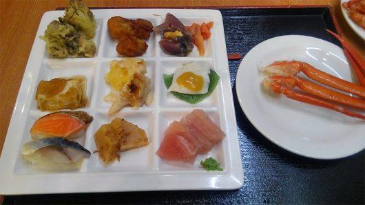 伊東園草津夕食
